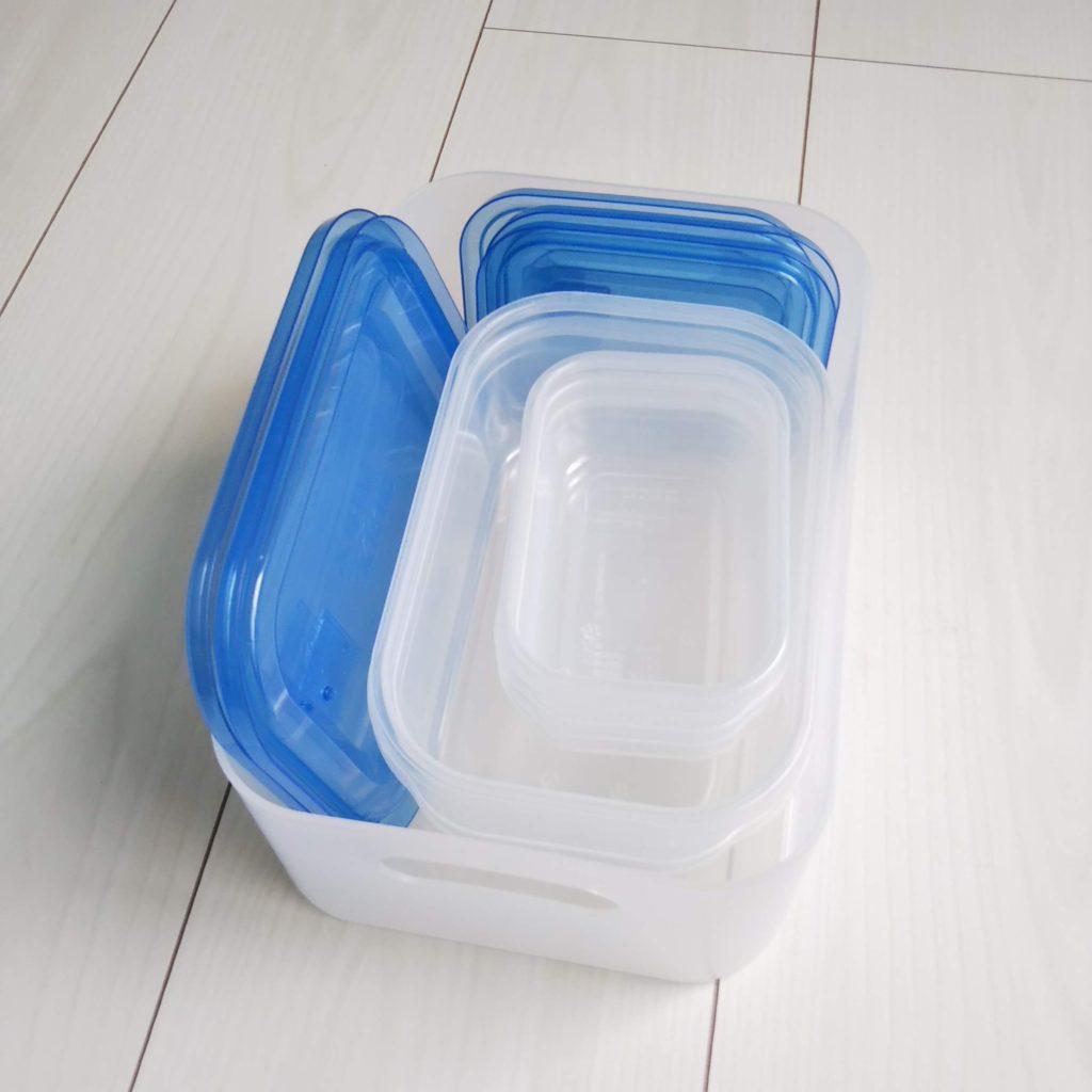 タッパー 保存容器 収納方法 おすすめ